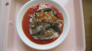 62-29日昼食マーボナス丼トマトソース仕立て.JPG